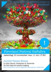 Deelnemer aan het HaFaBra Festival in Zeewolde
