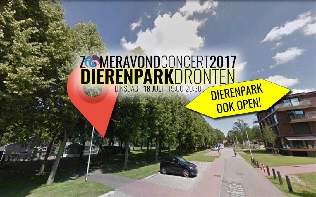 18 juli: Zomeravondconcert Dierenpark